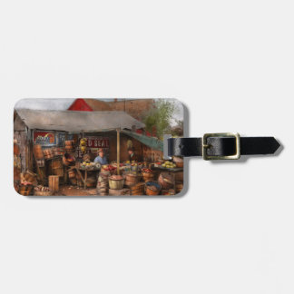 Store - Fruit - Grand dad's fruit stand 1939 Luggage Tag