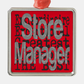 Store Manager Extraordinaire Metal Ornament
