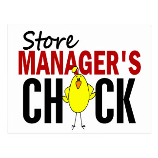Store Manager's Chick Post Cards