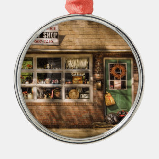 Store -  The Thrift Shop Silver-Colored Round Decoration