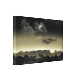 Stored in the Cloud Canvas Print