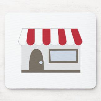 Storefront Building Mousepad