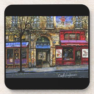 Storefronts in Paris  Coaster Set