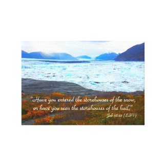Storehouse of Snow Stretched Canvas Prints