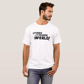 Stories Can Change the World (Light Shirts) T-Shirt