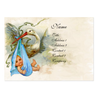 STORK BABY SHOWER 2 BUSINESS CARD
