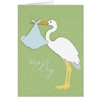 Stork Boy Card