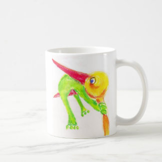 stork-frog edit coffee mug