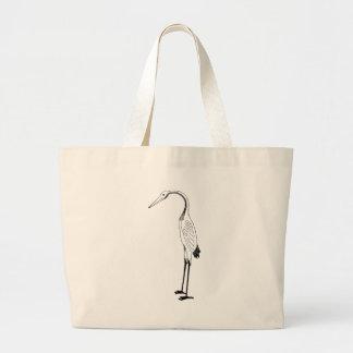 Stork Large Tote Bag