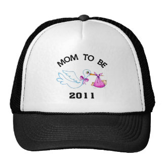 Stork Mom to Be Cap