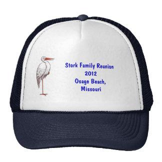 Stork Reunion Hat