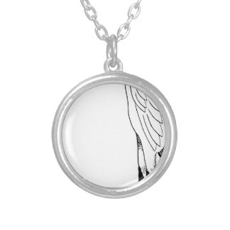 Stork Silver Plated Necklace
