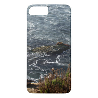 Stork Themed, Storks Watching The Tidal Waves From iPhone 7 Plus Case