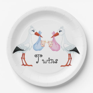 Storks 9 Inch Paper Plate