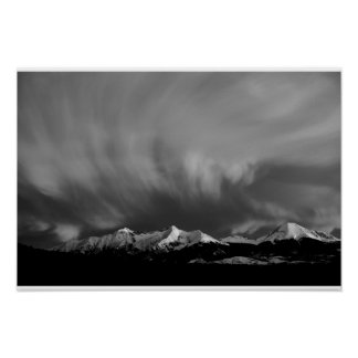 Storm above the Sangres Poster