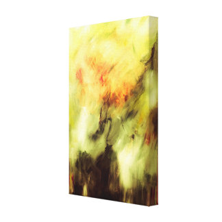 Storm abstract art canvas