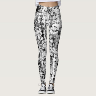 Storm Abstract Leggings