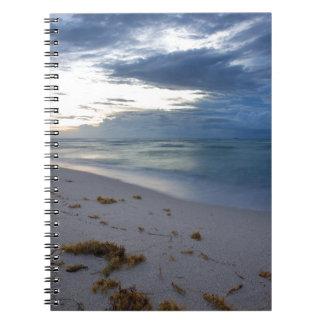Storm Approaching Miami Beach Notebook