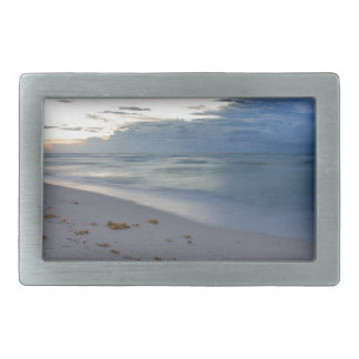 Storm Approaching Miami Beach Rectangular Belt Buckles