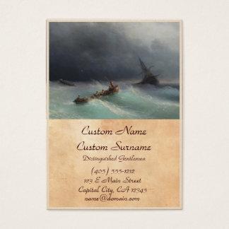 Storm at Sea Ivan Aivasovsky seascape waterscape