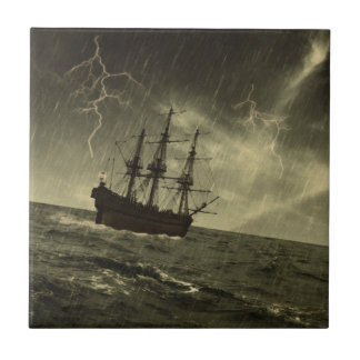 Storm at Sea Tile