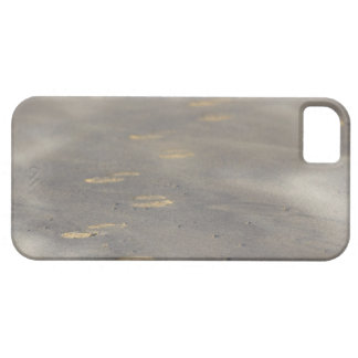 storm blowing shifting sand over boot prints iPhone 5 covers