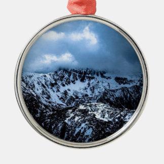 Storm Brewin' Metal Ornament
