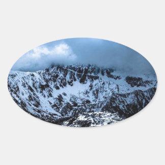 Storm Brewin' Oval Sticker