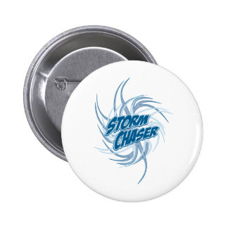 Storm Chaser 6 Cm Round Badge