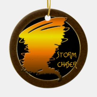 Storm Chaser Ceramic Ornament