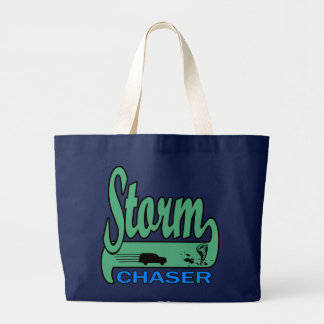 Storm Chaser Large Tote Bag
