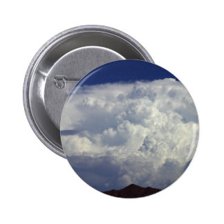 Storm Clouds 6 Cm Round Badge