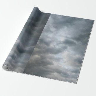 Storm Clouds Breaking Wrapping Paper