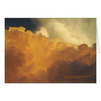 Storm clouds card