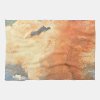 Storm Clouds in Pastel Kitchen Towel