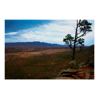 Storm clouds in the Australian Outback Poster