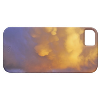 Storm Clouds in the Centennial Range in Montana iPhone 5 Cover