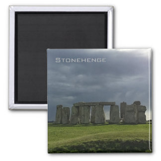 Storm clouds over Stonehenge Magnet