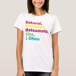 Storm Colors Japanese T-Shirt