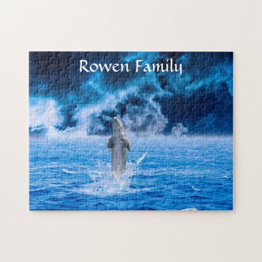 Storm Dolphin Jigsaw Puzzle