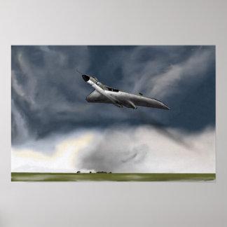 Storm Front Vulcan Poster