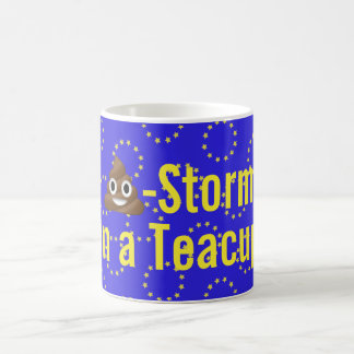 """💩-Storm in a Teacup!"" Brexit Mug"