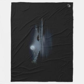 STORM IN THE MOONLIGHT - Fleece Blanket (LARGE)