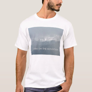 STORM ON THE MOUNTAIN Mens T-Shirt