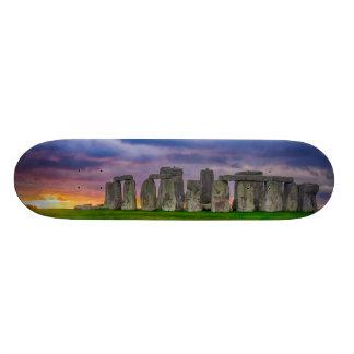 Storm Over Stonehenge Skateboard