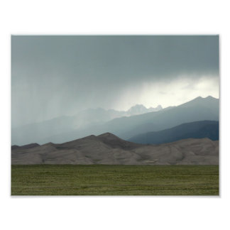 Storm over the Great Sand Dunes, Colorado Photo Art