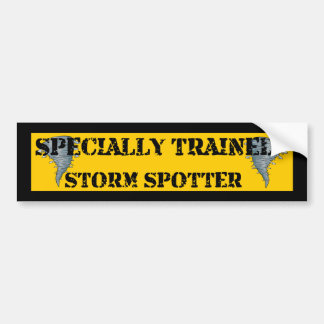 Storm Spotter Bumper Sticker
