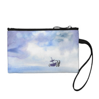 Storm-Tossed Key/Coin Clutch Coin Purse