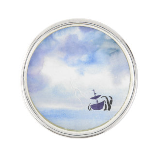 Storm-Tossed Lapel Pin
