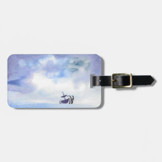Storm-Tossed Luggage Tag